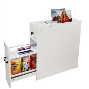 Clevr Bathroom Cabinet | Free Standing Cabinet with Slide-Out Drawers