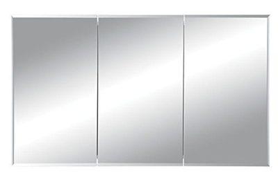 Jensen Tri-View Bevel Mirror Medicine Cabinet