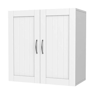 Yaheetech Bathroom Medicine Cabinet 2 Door Wall Mounted Storage Cabinet