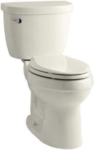 KOHLER Cimarron Comfort Height Elongated 1.28 gpf Toilet