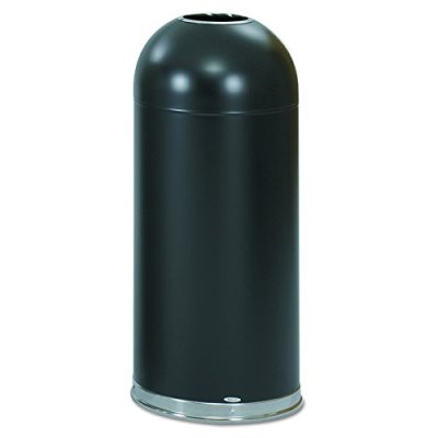 Safco Products Open Top Dome Trash Can