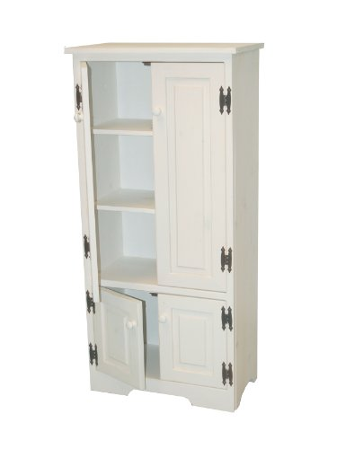 Target Marketing Systems Tall Storage Cabinet with 2 Adjustable Top Shelves