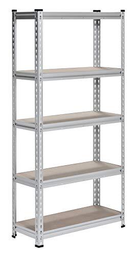 Muscle Rack Aluminum Heavy Duty 5-Shelf Shelving Unit