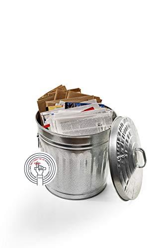 Behrens Manufacturing Galvanized Steel Trash Can
