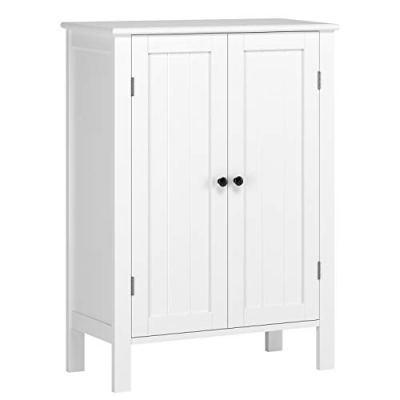 HOMFA Bathroom Floor Cabinet, Free Standing Side Cabinet Storage Organizer