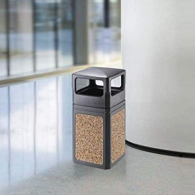 EKO Oscar Aggregate Panel Outdoor Trash Can