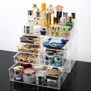 HMM Large Makeup Organizer Countertop, Jewelry and Cosmetic Organizer