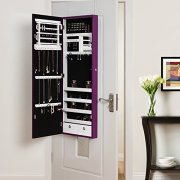 Inspired Home Julie Full Length Over-The-Door/Wall Mounted Jewelry