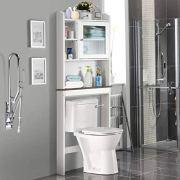 Giantex Over-The-Toilet Space Saver Collette Bathroom Spacesaver