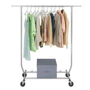 Sable Garment Rack, Multi-Function Commercial Grade Clothes Rolling Rack
