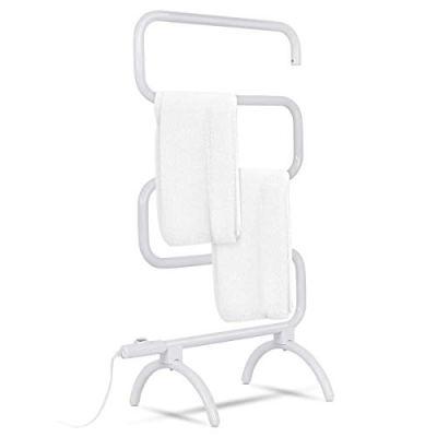 Tangkula Towel Warmer, Home Bathroom 100W Electric 5-Bar Towel Drying Rack