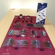 Wood Technology Silverware Drawer Lining Kit in Maroon