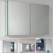"""Fresca Bath 40"""" Wide Bathroom Medicine Cabinet with Mirrors"""
