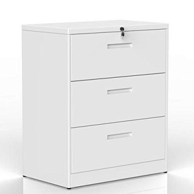 lateral Filing Cabinet 2 Drawer Locking File Cabinet 3 Drawers Metal Organizer