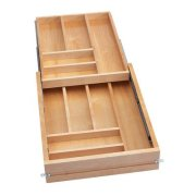 Rev-A-Shelf Frameless Tiered Cutlery System Drawer Organizers