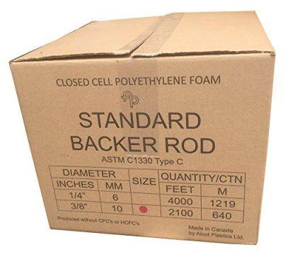 "3/8"" Closed Cell Backer Rod"