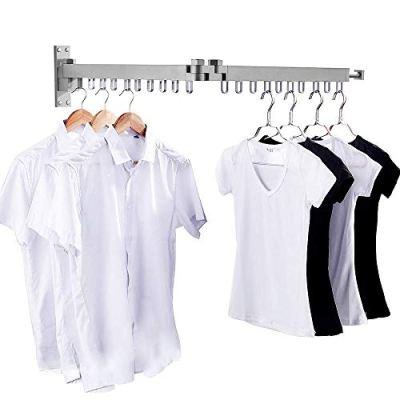 Bakala Wall Mounted Space-Saver, Clothes Drying Rack