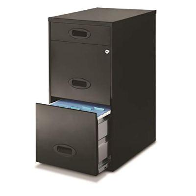 Realspace SOHO 3-Drawer Organizer Vertical File Cabinet