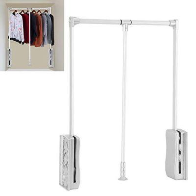 GOTOTOP Wardrobe Hanger, Aluminum Closet Storage Organizer Clothes