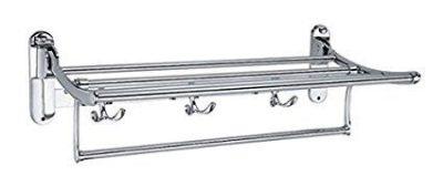 GARBNOIRE 202 Grade Stainless Steel 1.5 feet Long Folding Bathroom Towel