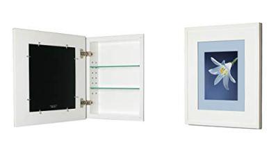 14x18 Concealed Medicine Cabinet (Large), a Recessed Mirrorless Medicine Cabinet
