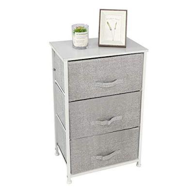 YOURLITEAMZ 3-Drawer Storage Organizer Dresser Non-Woven Fabric Organizer