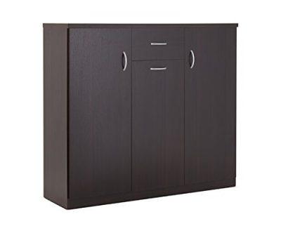 ioHOMES Darrion Modern 10-Shelf Shoe Cabinet