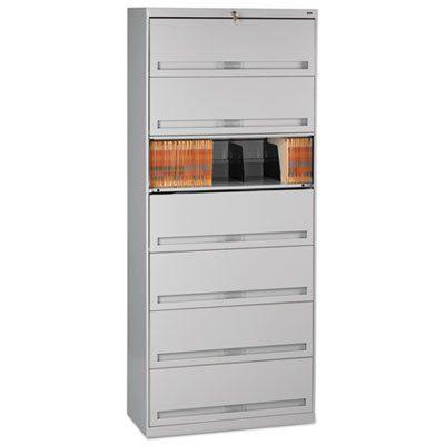 Tennsco Closed Fixed Shelf Lateral File