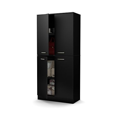 South Shore Axess Tall 4-Door Storage Cabinet