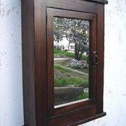 Primitive Mission Medicine Cabinet/Dark Walnut/Solid Wood & Handmade