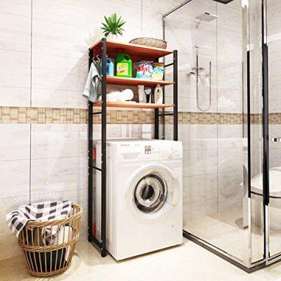 DL furniture - Bathroom Storage Shelf Over Toilet Space Saver