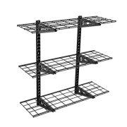 Fleximounts 3-Tier Storage Wall Shelves 1x3ft 12-inch-by-36-inch per shelf