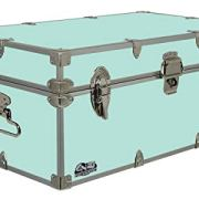 C&N Footlockers Happy Camper Storage Trunk - Summer Camp Chest