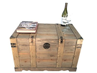 Styled Shopping Huntington All Cedar Large Wood Storage Trunk Wooden Treasure