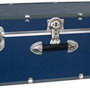 Seward Trunk Wheeled Footlocker, Blue