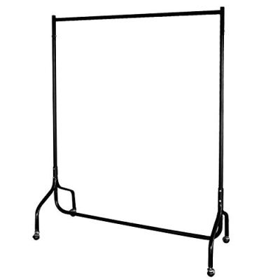 EZVOV Clothes Rack on Wheels, Heavy Duty Clothing Rack Commercial