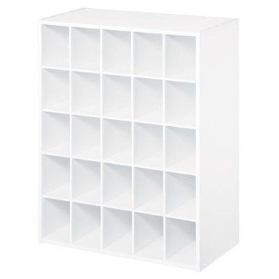 ClosetMaid 25-Cube Organizer, White