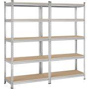Yaheetech Heavy Duty 5-Tier Commercial Industrial Garage Shelving Unit Storage