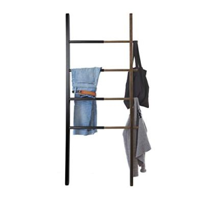 Umbra Hub Ladder - Adjustable Clothing Rack for Bedroom or Freestanding Towel