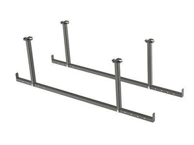 NewAge Products VersaRac Gray 2 Piece Accessory Kit, Garage Overheads