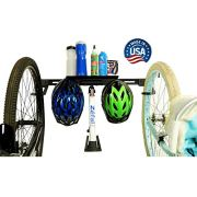Koova 2-Bike Wall-Mount Storage Rack - Garage Hanger for Big-Tire Cruisers