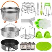 Aiduy 18 pieces Pressure Cooker Accessories Set Compatible with Instant Pot
