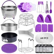22 Pcs Pressure Cooker Accessories Set Compatible with Instant Pot