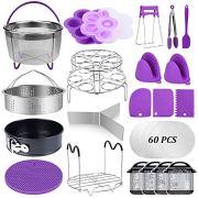 22 Pcs Pressure Cooker Accessories Set Compatible with Instant Pot