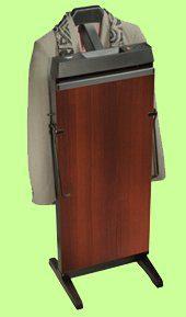 Corby 3300 Pants Press Valet Rich Walnut Wood Effect