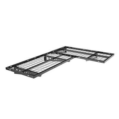 FLEXIMOUNTS 2-Pack 2x4ft Garage Storage Rack Corner Wall Shelf Floating Shelves