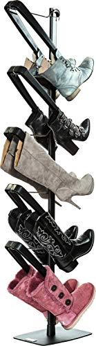 Boot Butler Standing Boot Rack - As Seen On Rachael Ray - Clean Up Your Floor