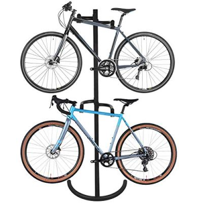 ZENY Gravity Bike Stand Rack Free Standing Garage Bike Storage Rack Organizer