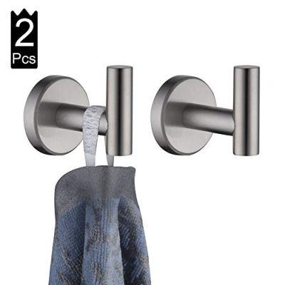 JQK Bathroom Towel Hook, Coat Robe Clothes Bath Wall Hooks for Kitchen Garage