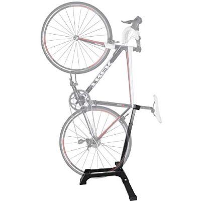 Qualward Bicycle Stand Vertical Bike Rack Adjustable Upright Design